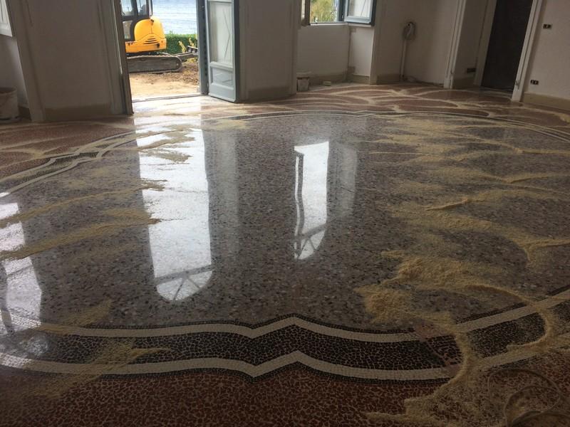 dolmamarmiemosaici.it* pavimenti in seminato veneziano Milano