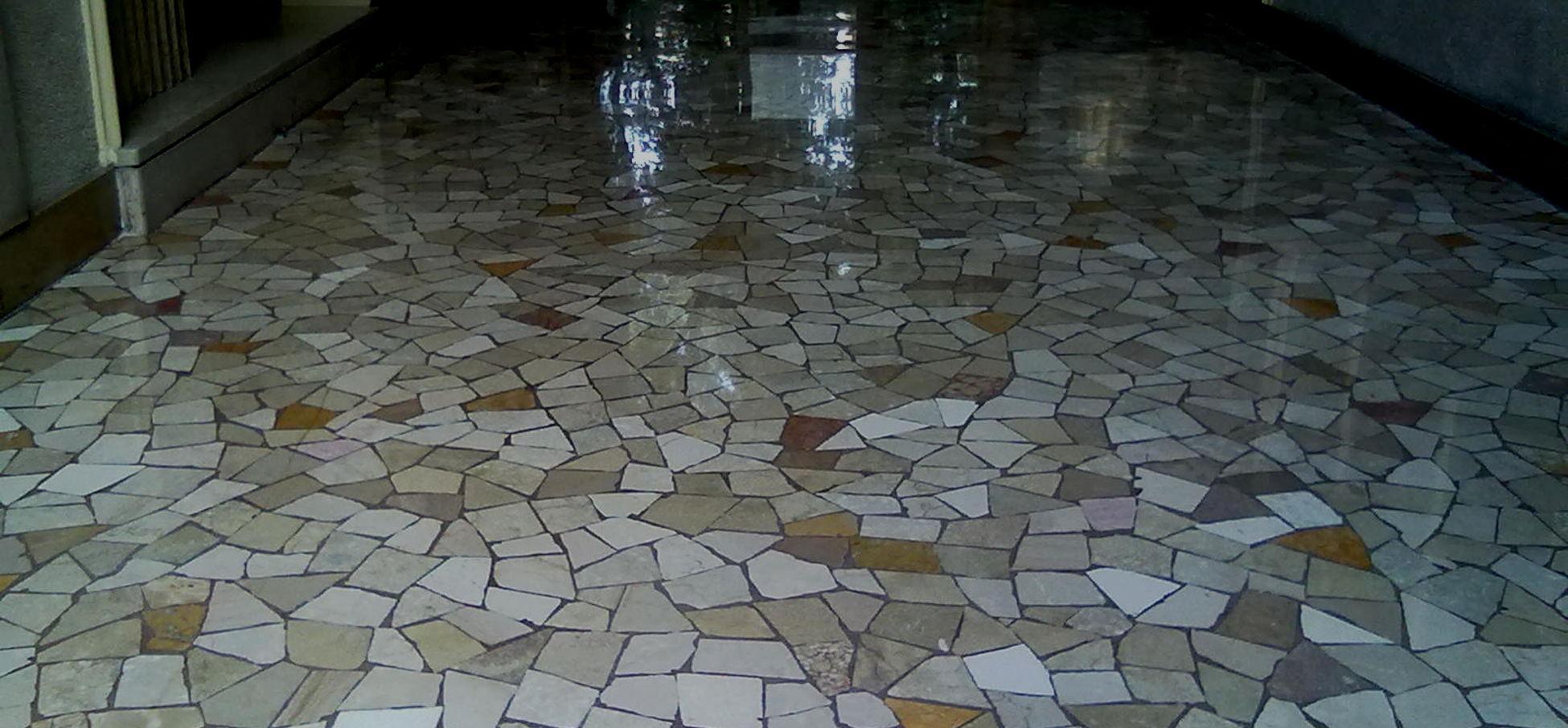 Pavimento In Terrazzo Alla Veneziana dolmamarmiemosaici.it* levigatura marmo milano e pavimenti